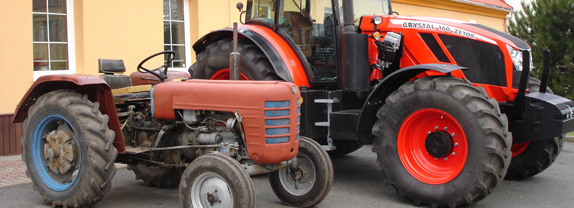 Renovace traktorů